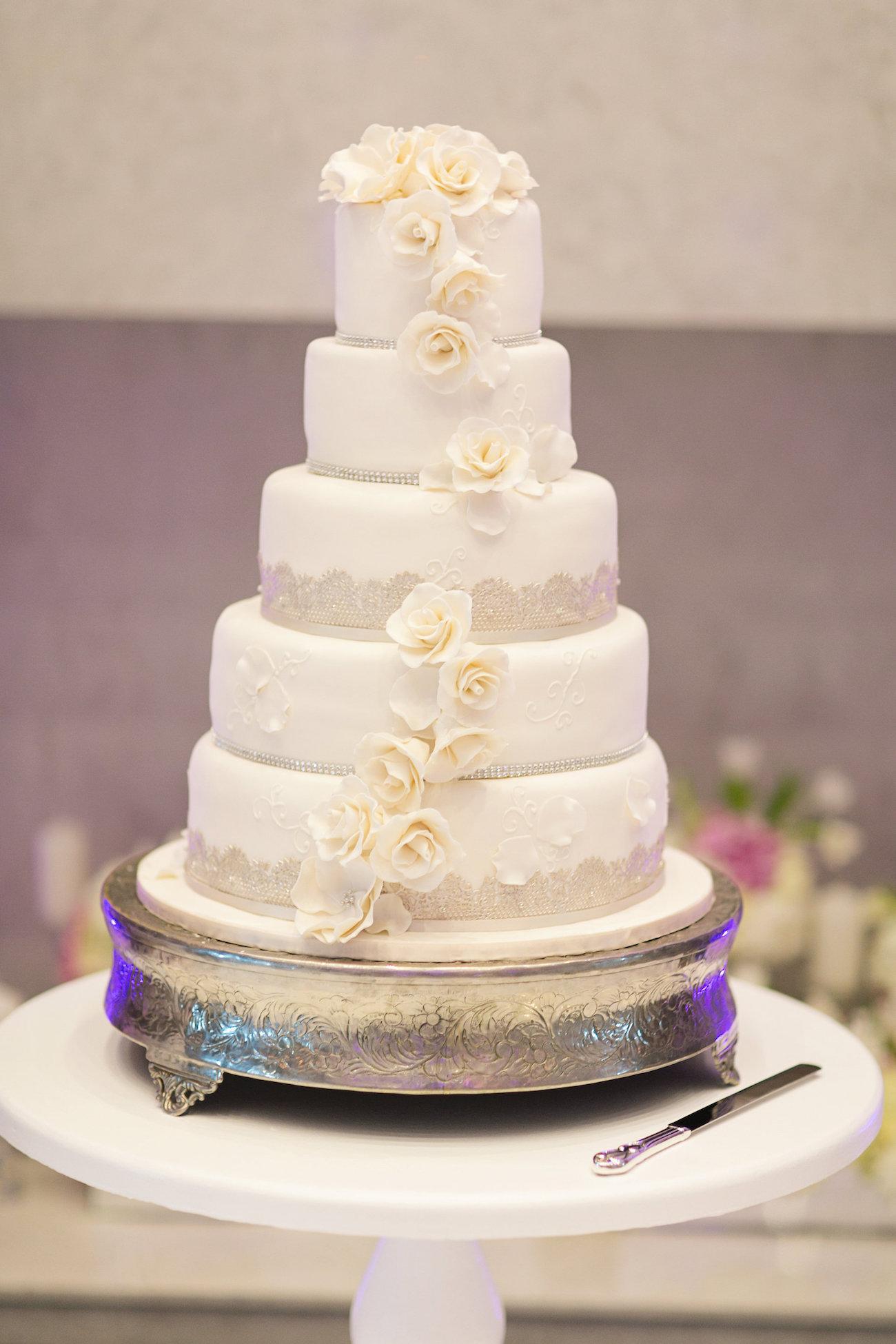 Classic Wedding Cake | Credit: Tyme Photography & Wedding Concepts