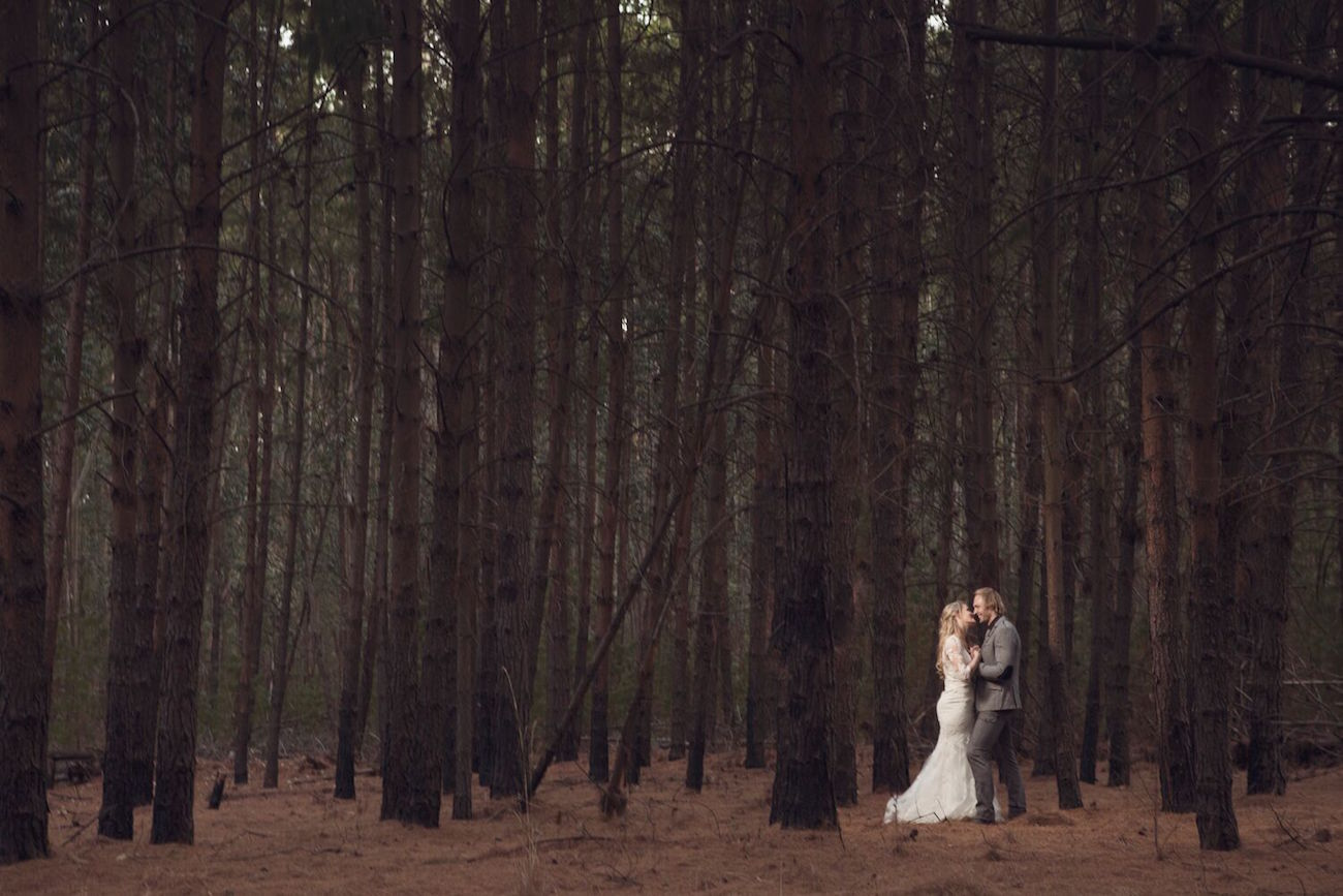 Forest Bridal Portrait | Image: Daniel West
