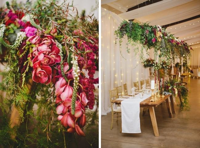 Hanging Florals | Credit: Roxanne Davison