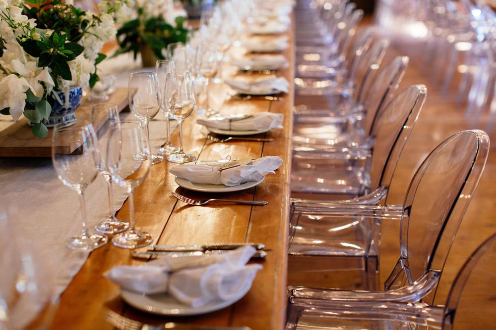 Long Wooden Tables | Images: Marli Koen
