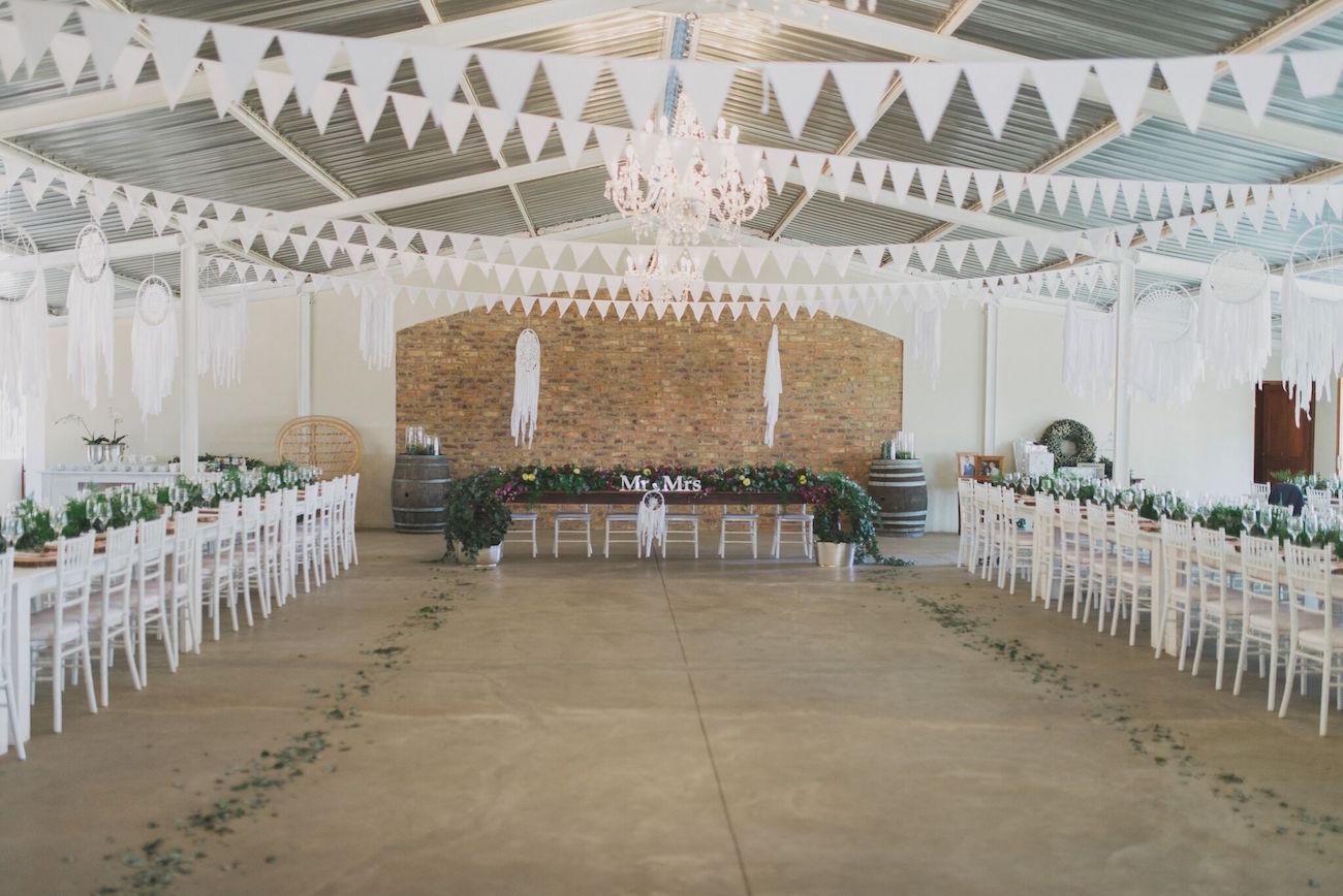 Free Spirited Forest Wedding Reception   Credit: Vicky Bergallo