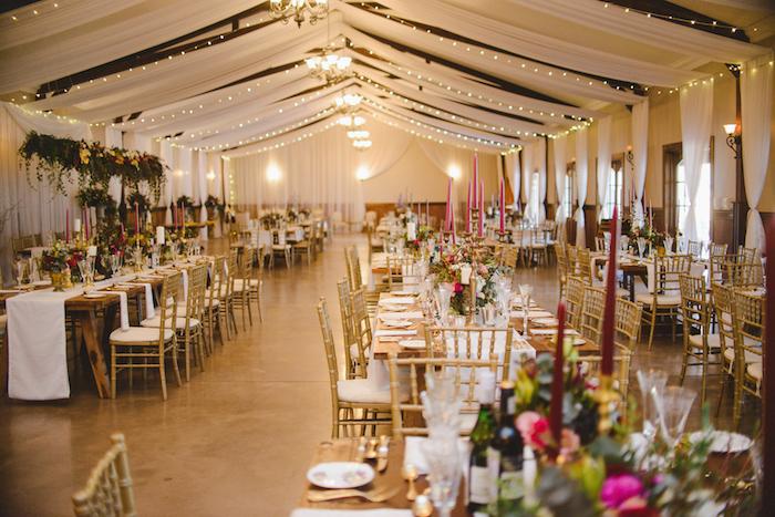 Romantic Baroque Wedding Reception   Credit: Roxanne Davison
