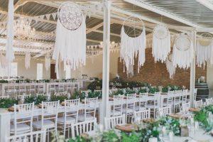 Dreamcatcher Wedding Decor | Credit: Vicky Bergallo