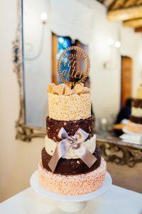 Rice Krispie Tiered Wedding Cake | Images: Marli Koen