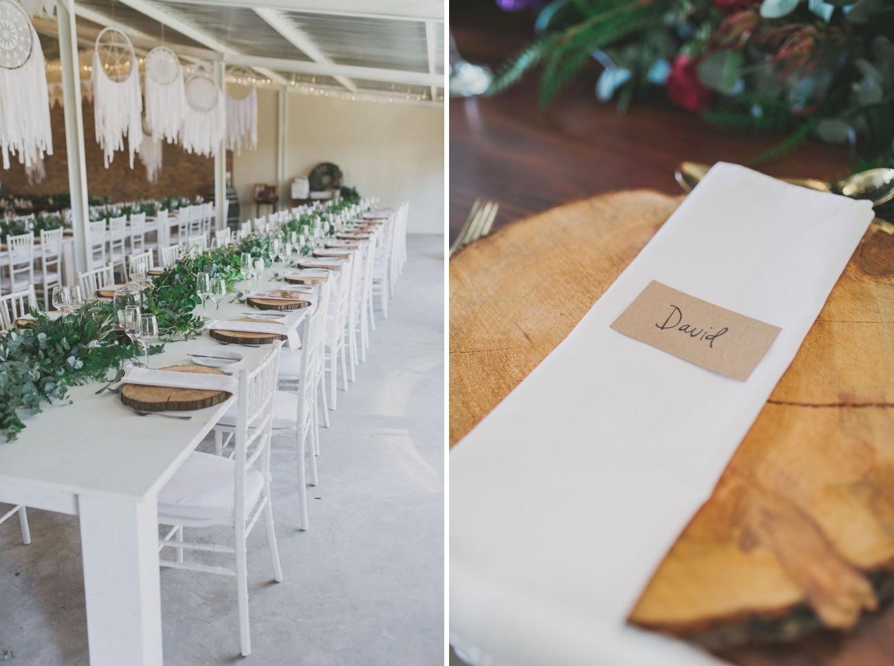 Rustic Table Decor | Credit: Vicky Bergallo