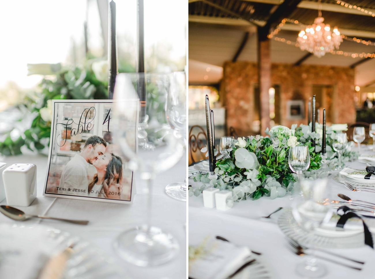 Graceful Greenery Wedding Reception | Image: Carla Adel