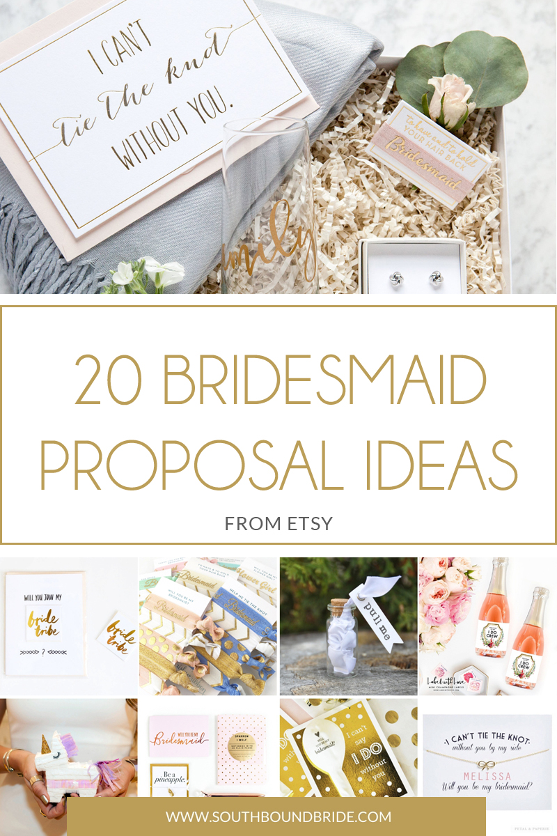 Bridesmaid Proposal Ideas from Etsy