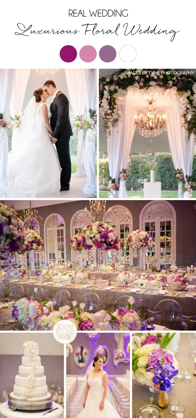 Luxurious Floral Wedding at The Westcliff by Tyme Photography | SouthBound Bride