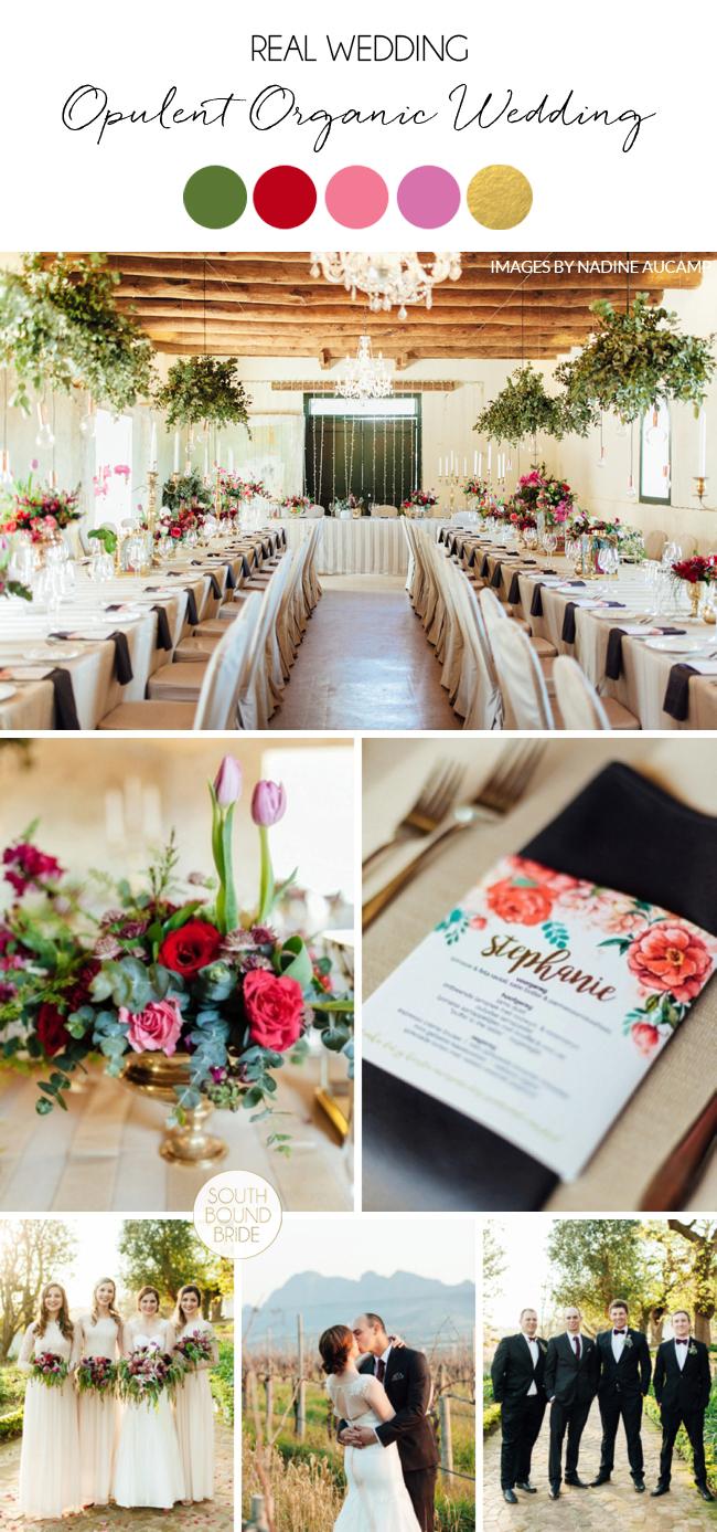 Opulent Organic Wedding