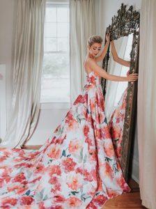 Floral Wedding Dresses