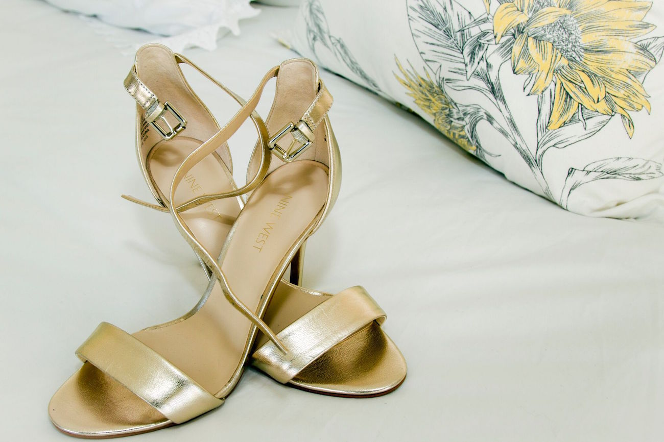 Gold Shoes | Credit: Oh Happy Day & Dane Peterson