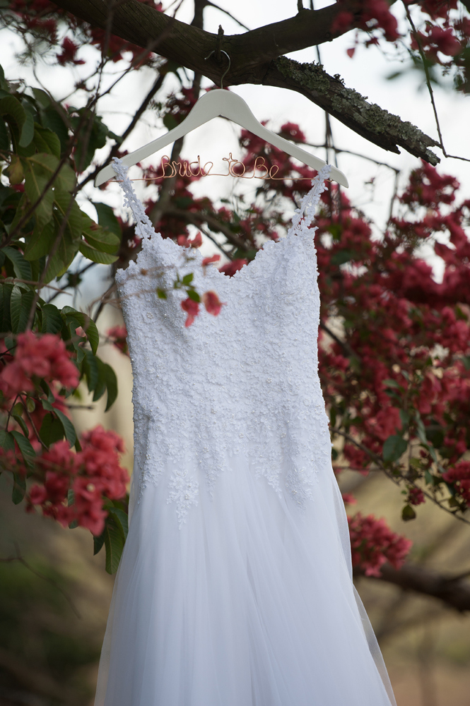 Strappy Lace Wedding Dress | Image: Tanya Jacobs
