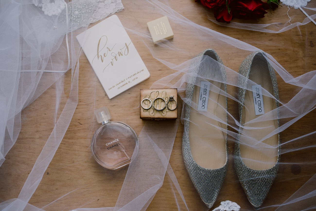 Jimmy Choo Wedding Shoes | Image: Lad & Lass Photography