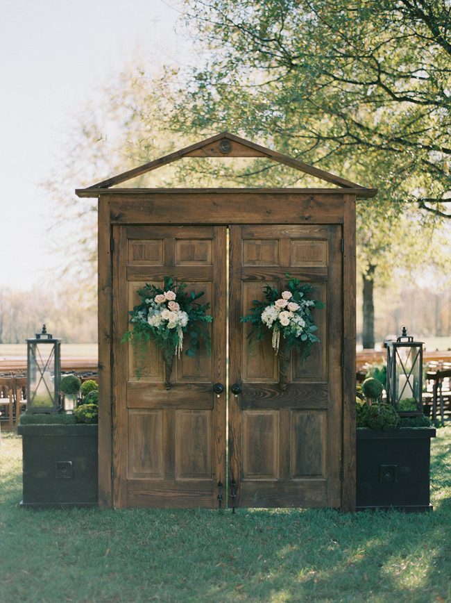 20 Ceremony Door Arches Amp Altars Southbound Bride