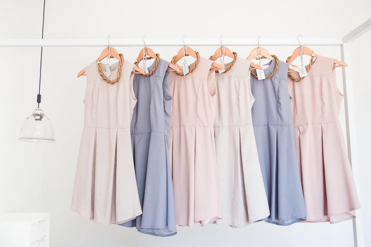 Pastel Bridesmaid Dresses | Image: JCclick