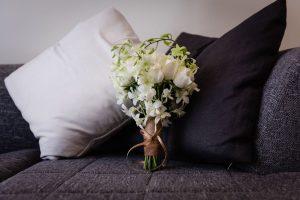 White Wedding Bouquet | Image: Wynand van der Merwe