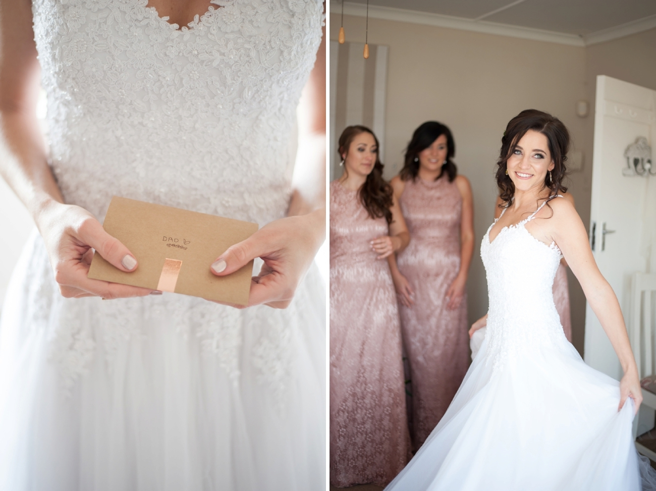 Romantic Rose Gold Farm Wedding | Image: Tanya Jacobs