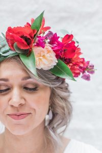 Bright Floral Crown | Image: Alicia Landman