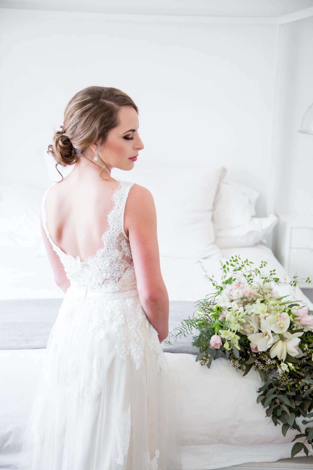 BHLDN Lace Wedding Dress | Image: JCclick