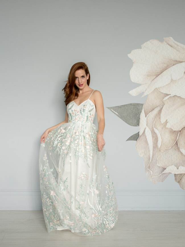 Flower Wedding Dresses