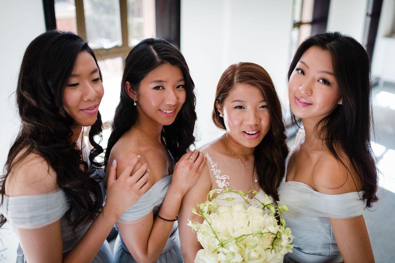 Modern Bridesmaids | Image: Wynand van der Merwe