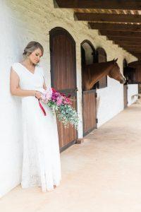 Bride at Stables | Image: Alicia Landman