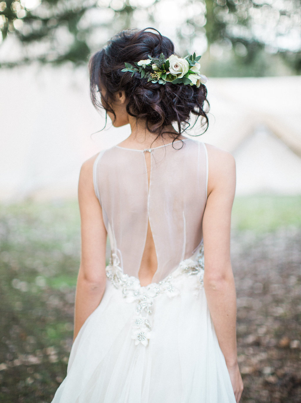 008 Bridal Hairstyles With Real Flowers On Southboundbride