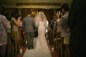 Ceremony Entrance | Image: Moira West