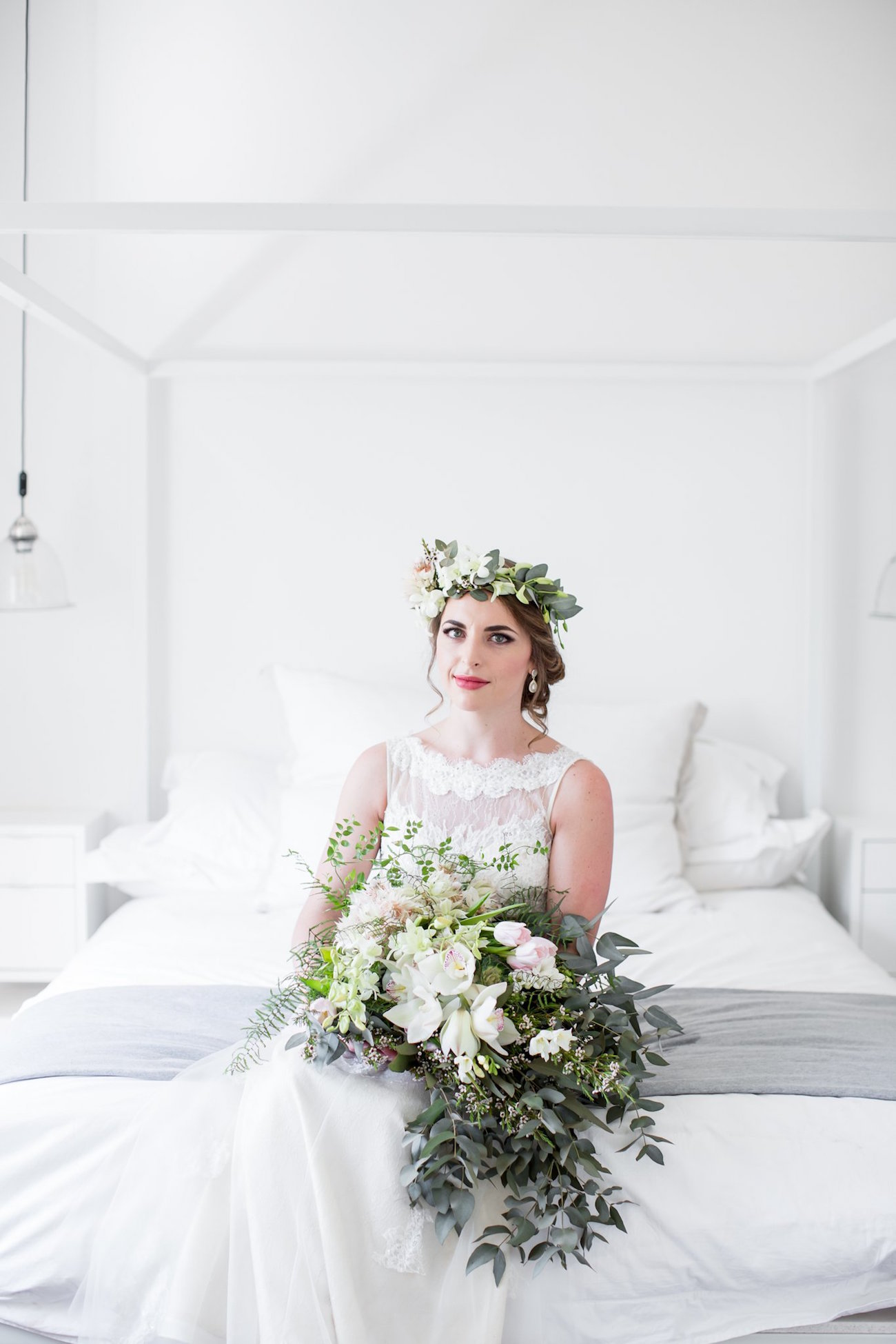 Greenery Wedding Bouquet | Image: JCclick