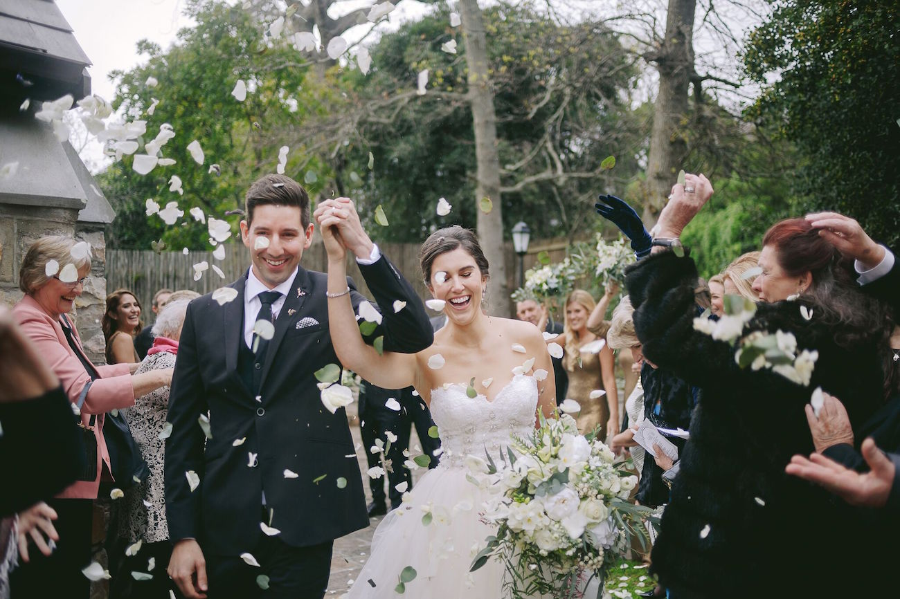 Confetti Toss | Credit: Jani B & Bright and Beautiful