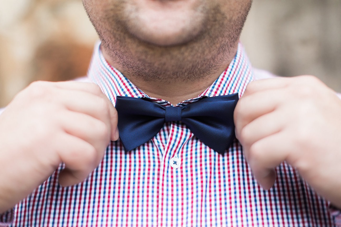 Groom Bow Tie | Image: Alicia Landman