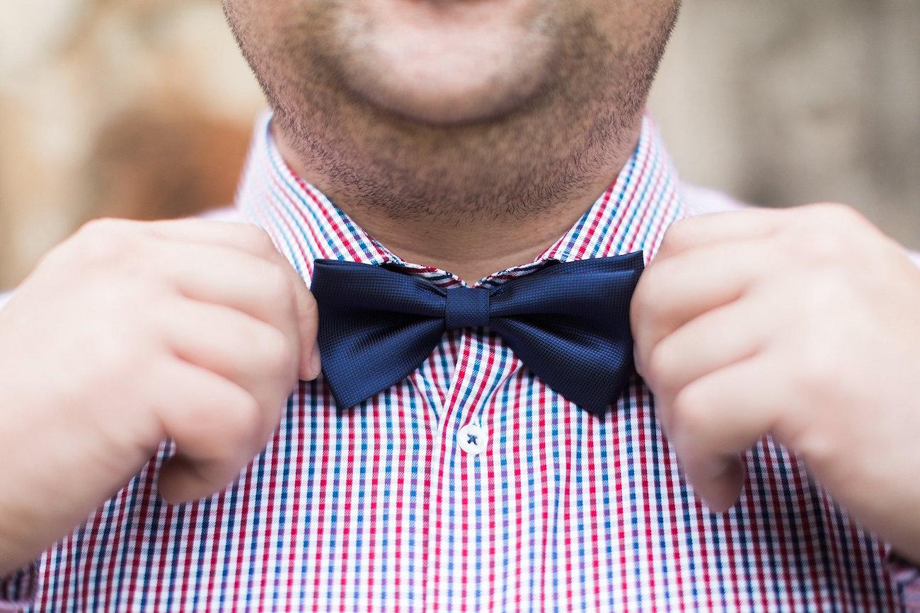 Groom Bow Tie | Image: Alicia Landman