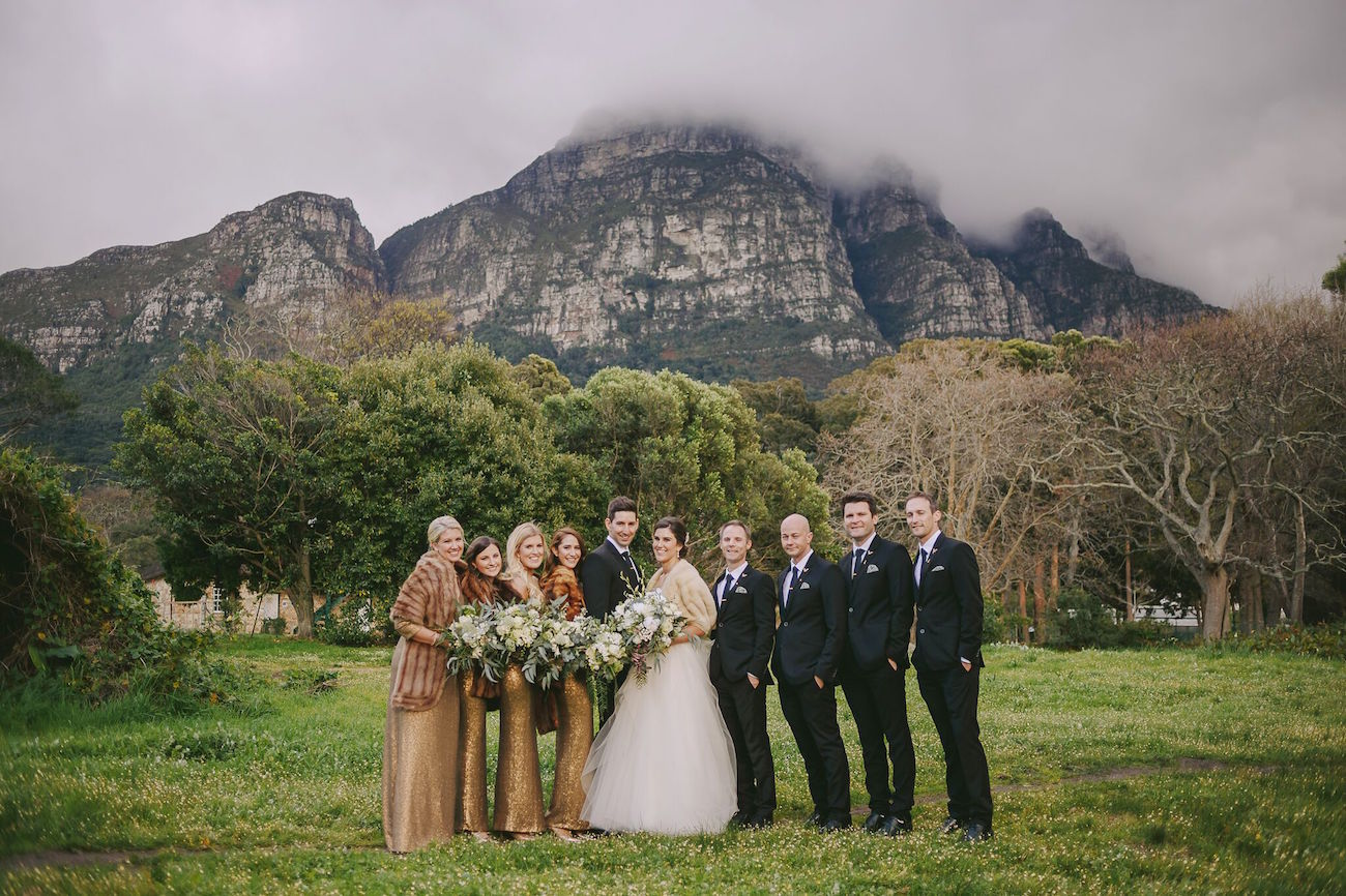 Winter Wedding Party | Credit: Jani B & Bright and Beautiful