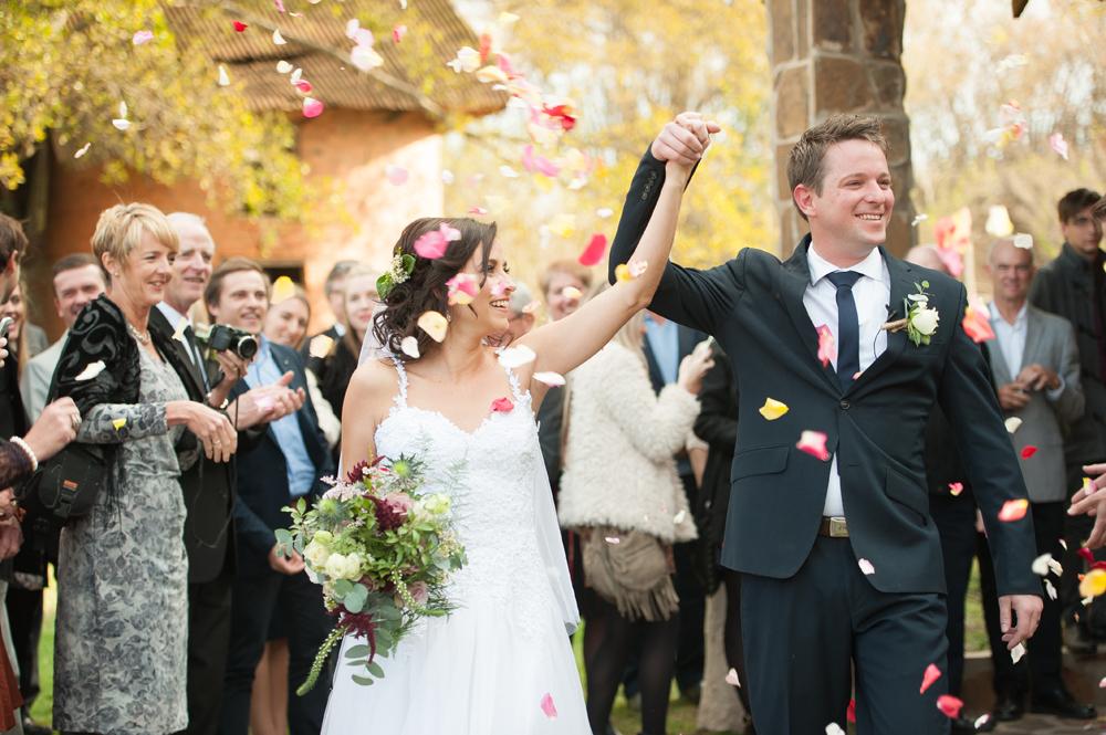 Happy Ceremony Exit | Image: Tanya Jacobs