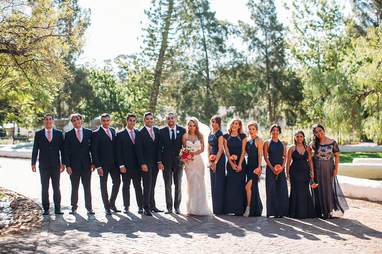 Wedding Party | Image: Moira West