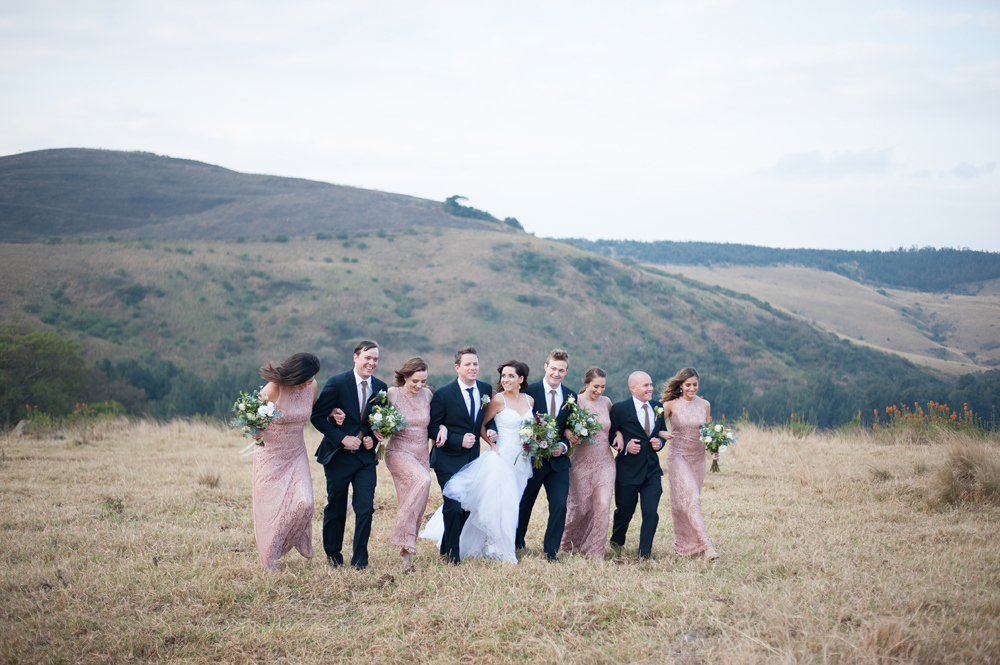 Winter Wedding Party | Image: Tanya Jacobs
