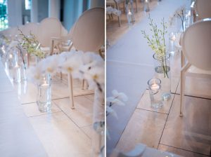 Elegant Modern Asian Wedding Ceremony at The Forum | The Campus | Image: Wynand van der Merwe