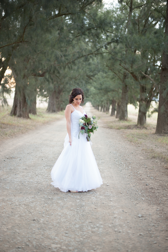 Strappy Wedding Dress | Image: Tanya Jacobs