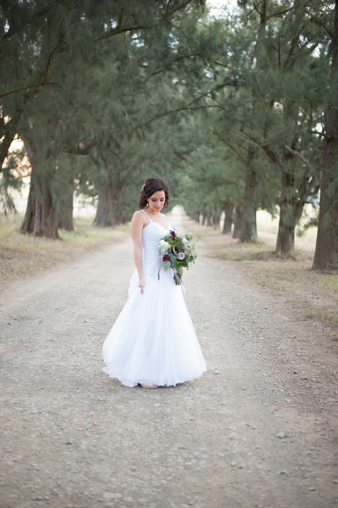 Strappy Wedding Dress | Image: Tanya Jacobs