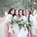 Romantic Rose Gold Farm Wedding at Thorner Country Estate by Tanya Jacobs