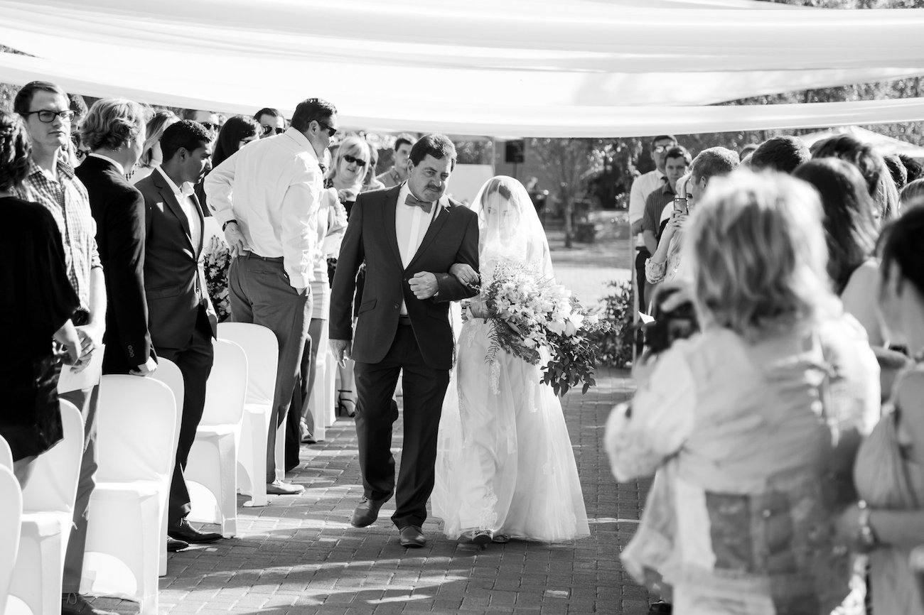 Walking Down the Aisle | Image: JCclick