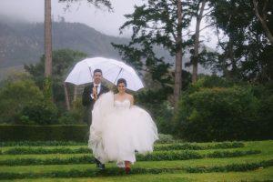 Rainy Wedding | Credit: Jani B & Bright and Beautiful
