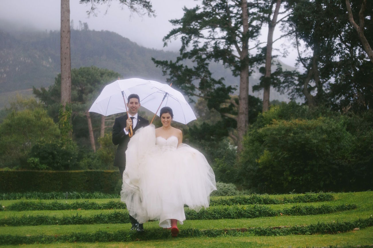 Rainy Wedding | Credit: Jani B & Bright and Beautiful