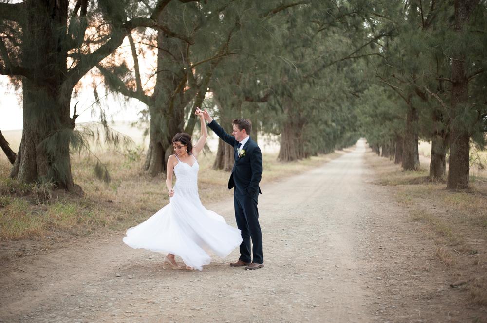 Bride and Groom Dancing | Image: Tanya Jacobs