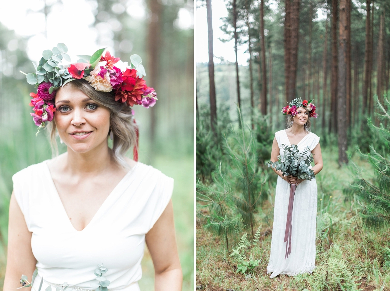 Informal Forest Feast Wedding | Image: Alicia Landman