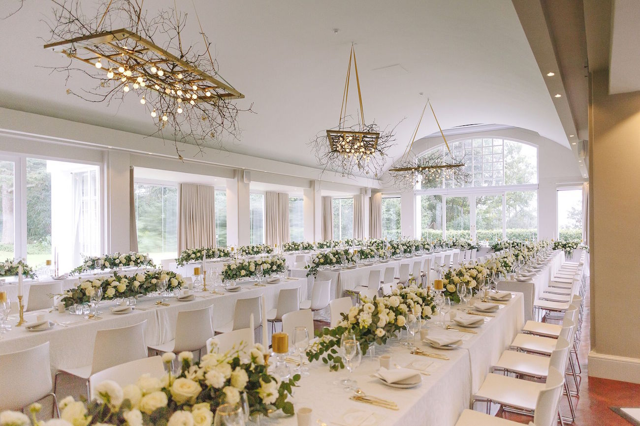 Embassy Hill Wedding Reception | Credit: Jani B & Bright and Beautiful