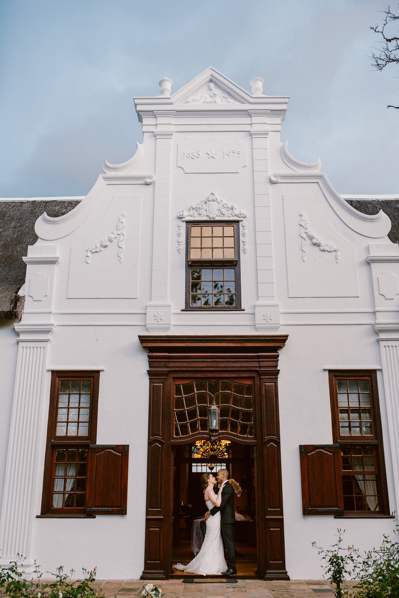 Cape Dutch Manor House Wedding | Image: Lad & Lass Photography
