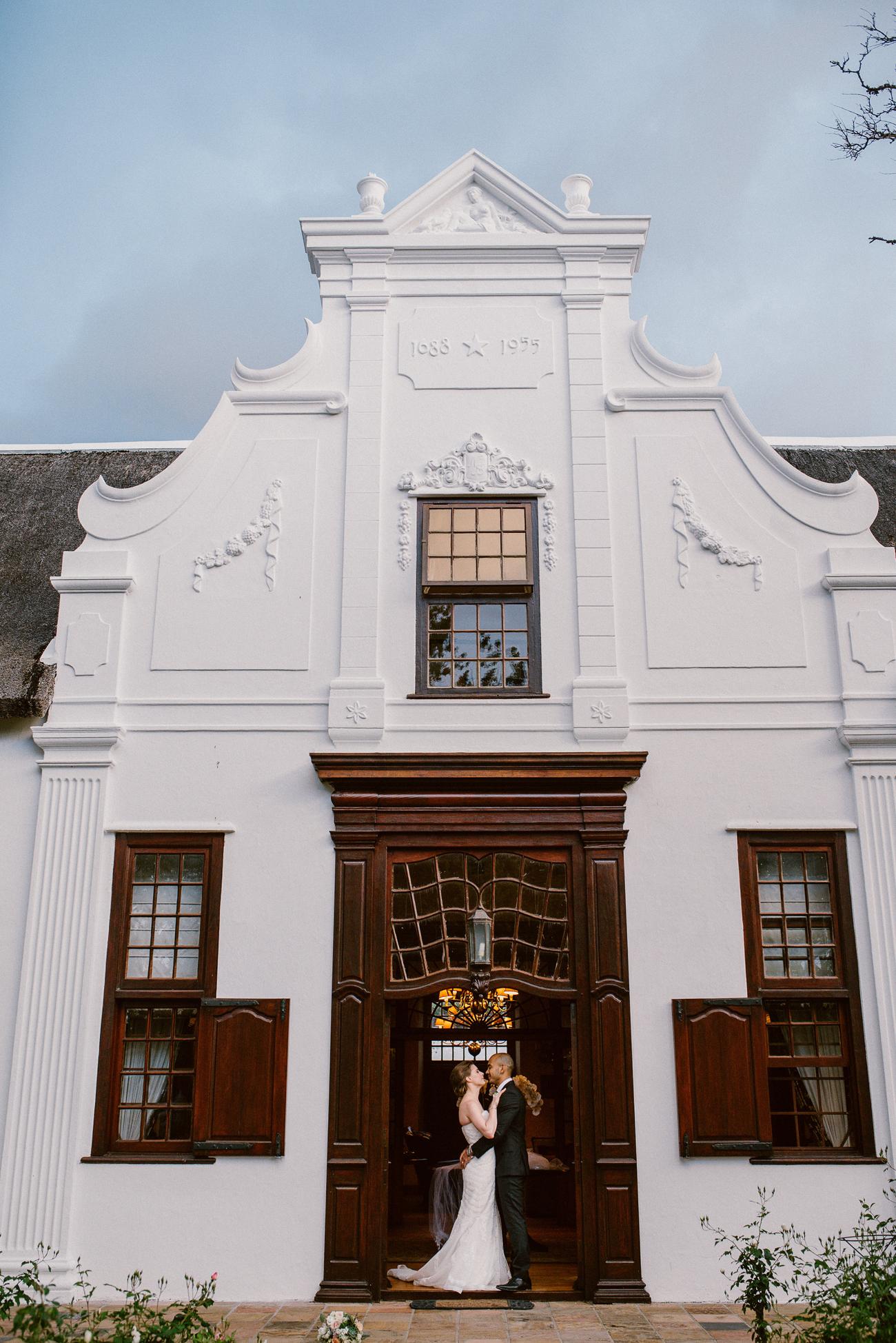 Cape Dutch Manor House Wedding | Image: Lad & Lass Photography