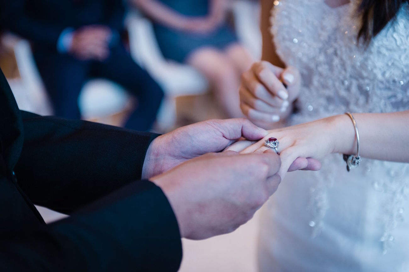 Ruby Wedding Ring | Image: Wynand van der Merwe