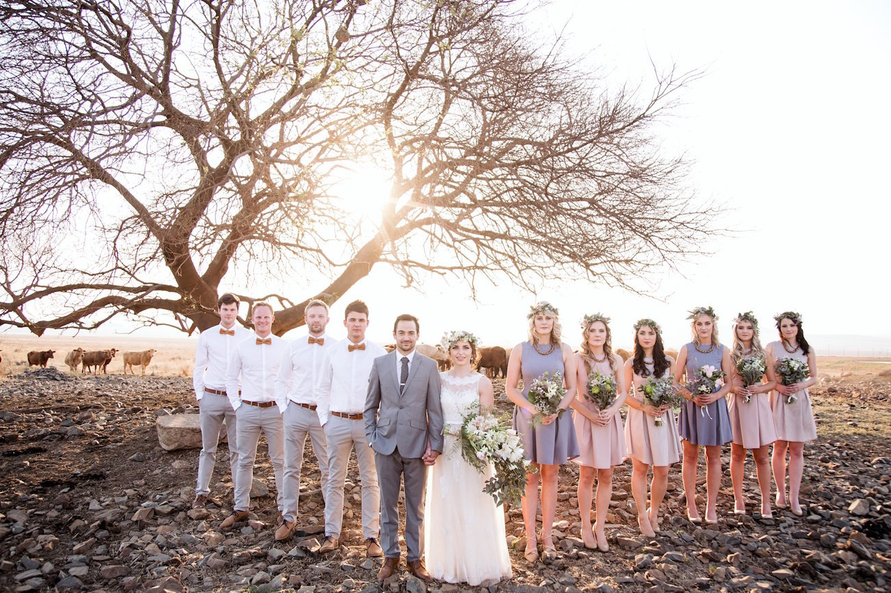Wedding Party Portrait | Image: JCclick